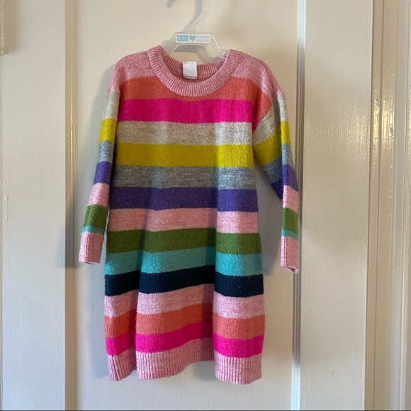 BOGO - Baby Gap Crazy Stripe Sweater Dress
